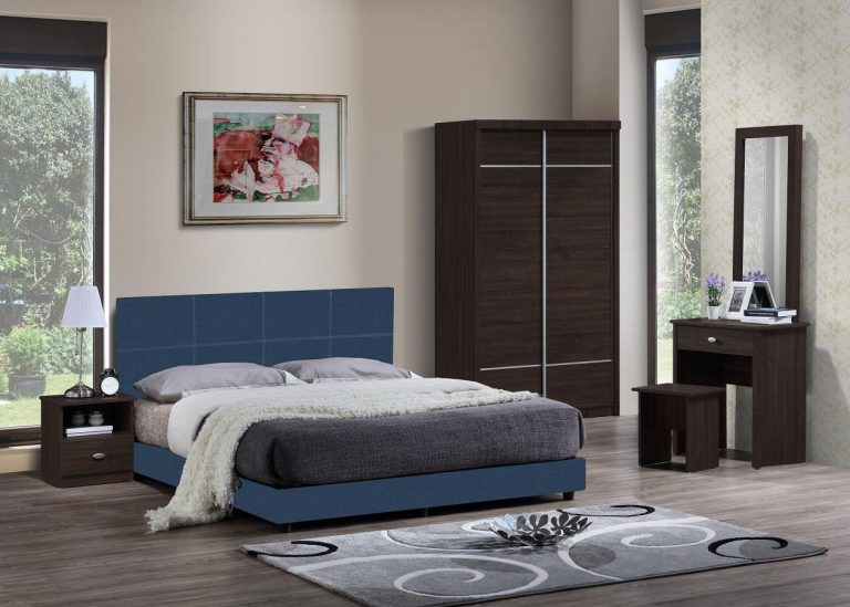 ihome Bless Bed-007 Aqua Blue Bed