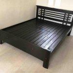WOODEN BED FRAME / 09771241961