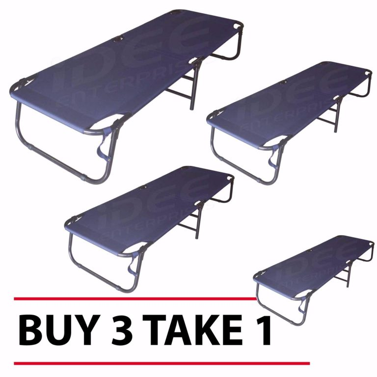 1695 - I Folding Bed (Blue) Buy 3 Take 1