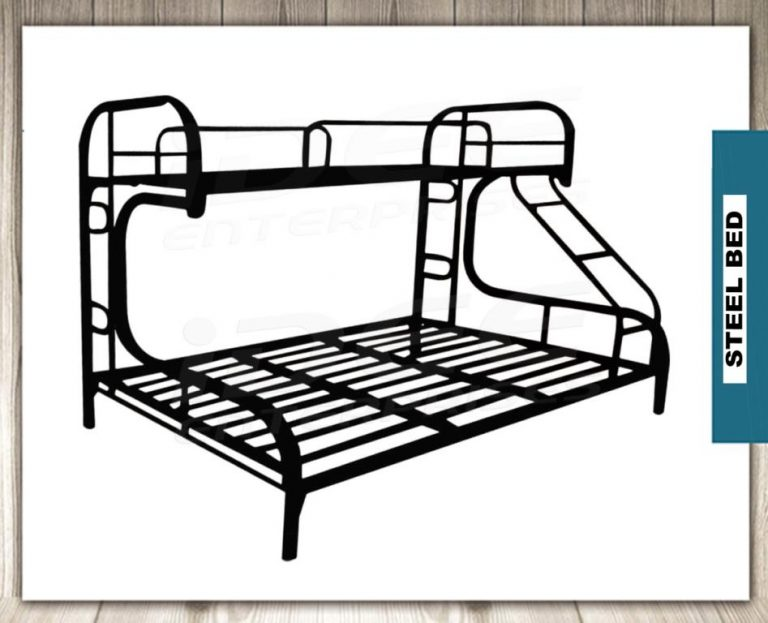 Tailee Furniture Detachable Double Deck Steel Bed Frame
