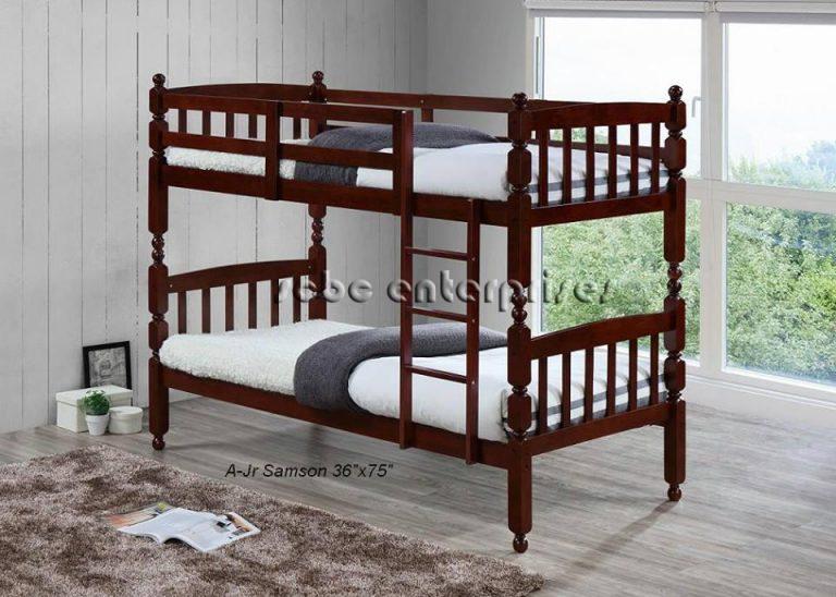 Wooden Double Deck A-Samson Jr. (wenge)