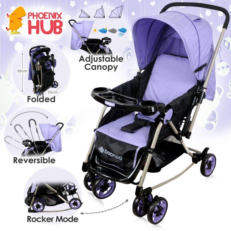 Phoenix Hub S32 Baoneo Stroller Rocker Pocket Stroller Pockit Pushchair Food Tray High Quality Portable Stroller Multi Function  Baby Travel System