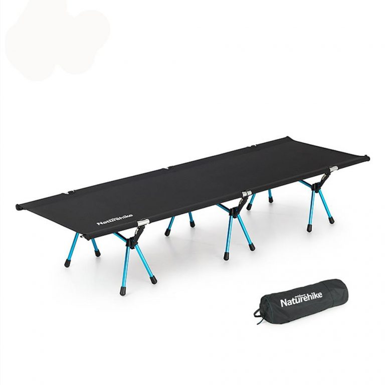 Folding bed single twin bed office nap portable outdoor beach bed campbed