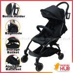 PhoenixHub Clever Character Design Babytime Baby Infant Stroller Pushchairs Baby Carriage Waterproof Cover Windshield Baby Travel System