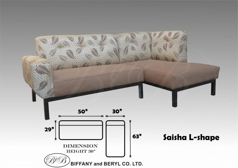 Sofa Set Saisha L-shape