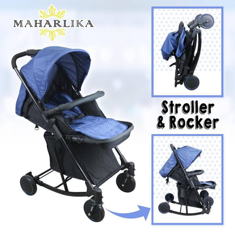 MK Folding Convertible baby stroller rocker for baby 0 to 3 years old T609