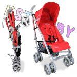 KST Baby Reclinable Classic Design Baby Pram Stroller