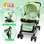 Phub Baiai Stroller Rocker Baby Pushchair Stroller Pram Baby Trolley Reclining Stroller