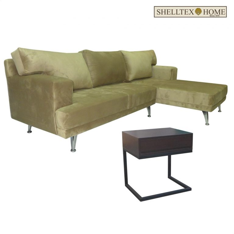 Sofa Furniture Tyrion L-shape with free Side Table