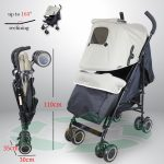HS300 Golden Baby Lightweight Portable and Foldable Baby Stroller