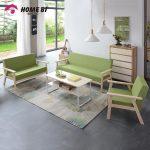 Home bl Fabric Combination Bedroom Mini Couch Sofa - intl
