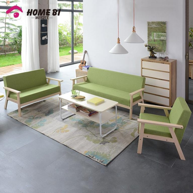 Home bl Fabric Combination Bedroom Mini Couch Sofa - intl
