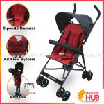 Phoenix Hub Vibrant VS-300 Foldable Stroller Portable Stroller Push Chair Mini Stroller Baby Trolley Baby Travel System
