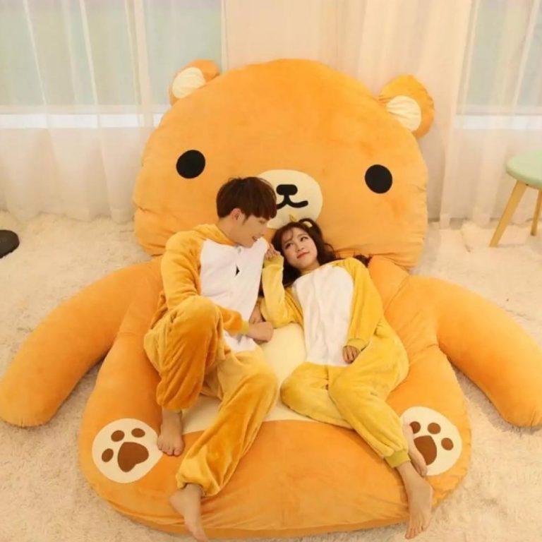 Stuffed Toy Bed (Rillakuma)