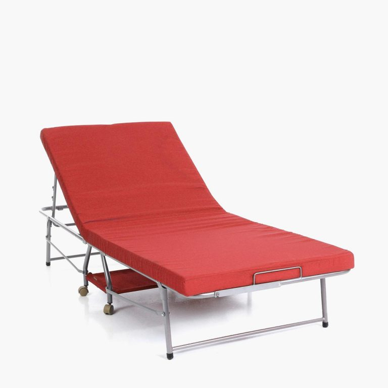 SM Home Chateaux Folding Bed (Red)