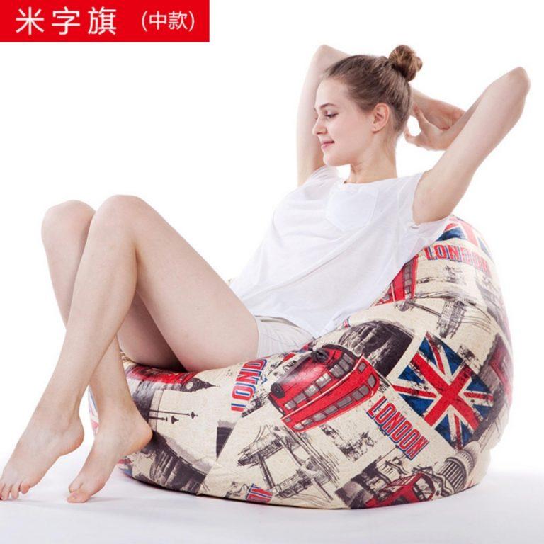 Ajusen Lazy sofa Bean Bag living room furniture Chair Comfortable Beanbag Sofas For Living Room - intl