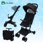 Cool Baby S5506 Pushchair Stroller Baby Trolley Reclining Stroller Pram Stroller Multi Function Baby Portable Travel System