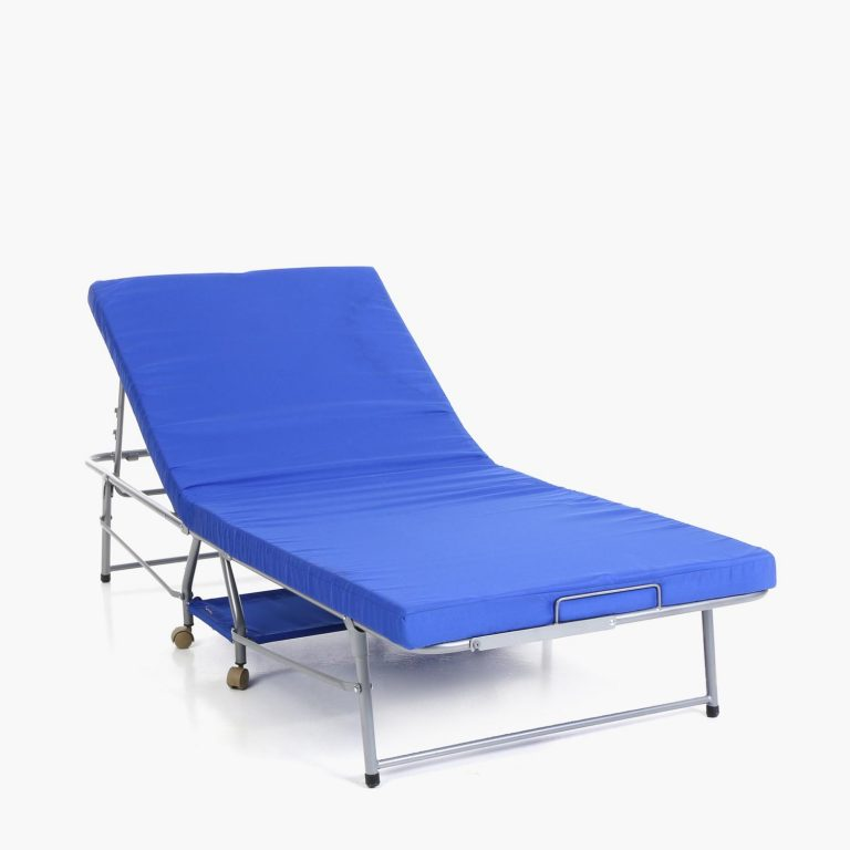 SM Home Chateaux Folding Bed (Blue)