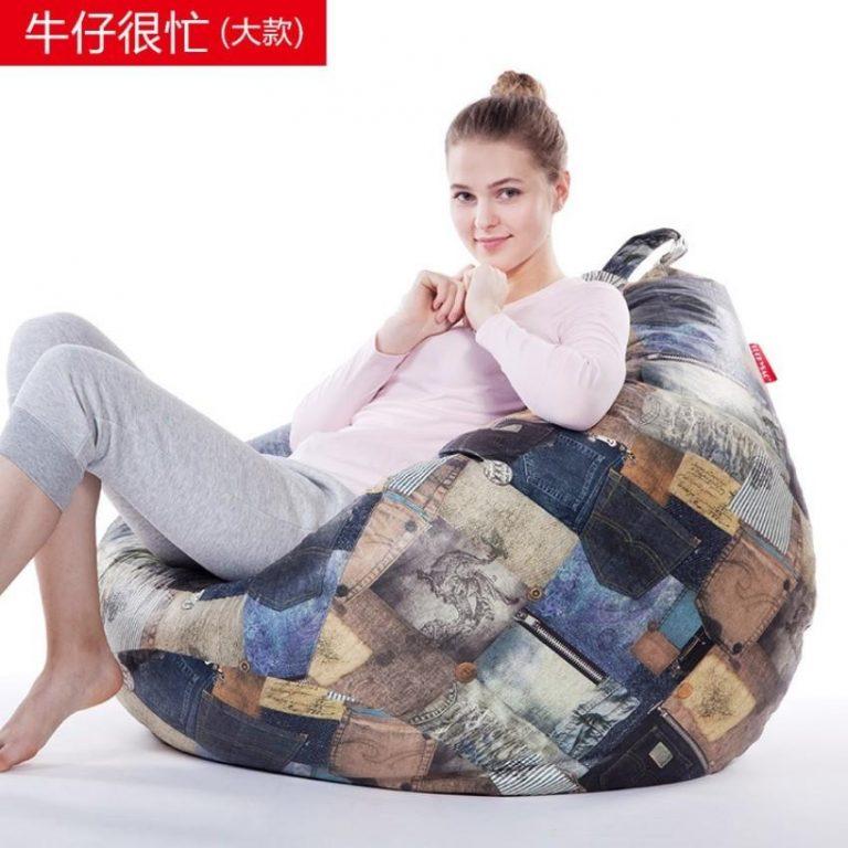 Creative Sofa Soft sofa Lazy sofa Modern furniture Fabric artapartment Living Room Furniture 90cm*80cm