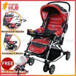 PHub Baiai Foldable Pushchair Stroller Pram Baby Trolley Reclining Stroller