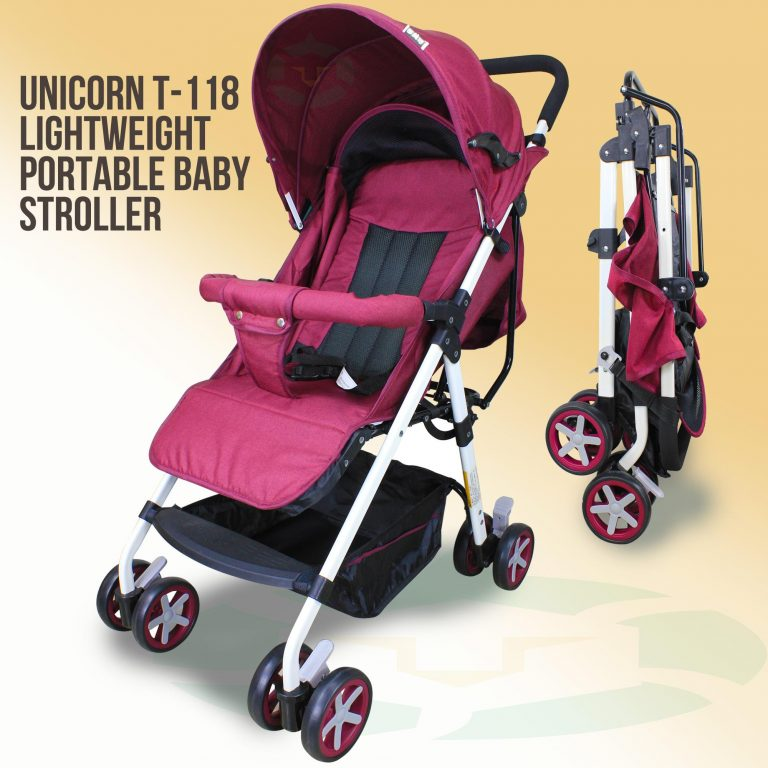 Unicorn T118 Simple Lightweight Portable Baby Stroller