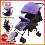 Phoenix Hub T608 Baby Stroller Travel System Super Lightweight Stroller Foldable Stroller Push Chair Portable Stroller Pocket Stroller