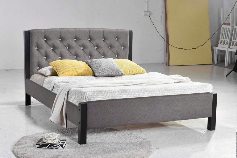 ihome Rose-13 Fabric Bed