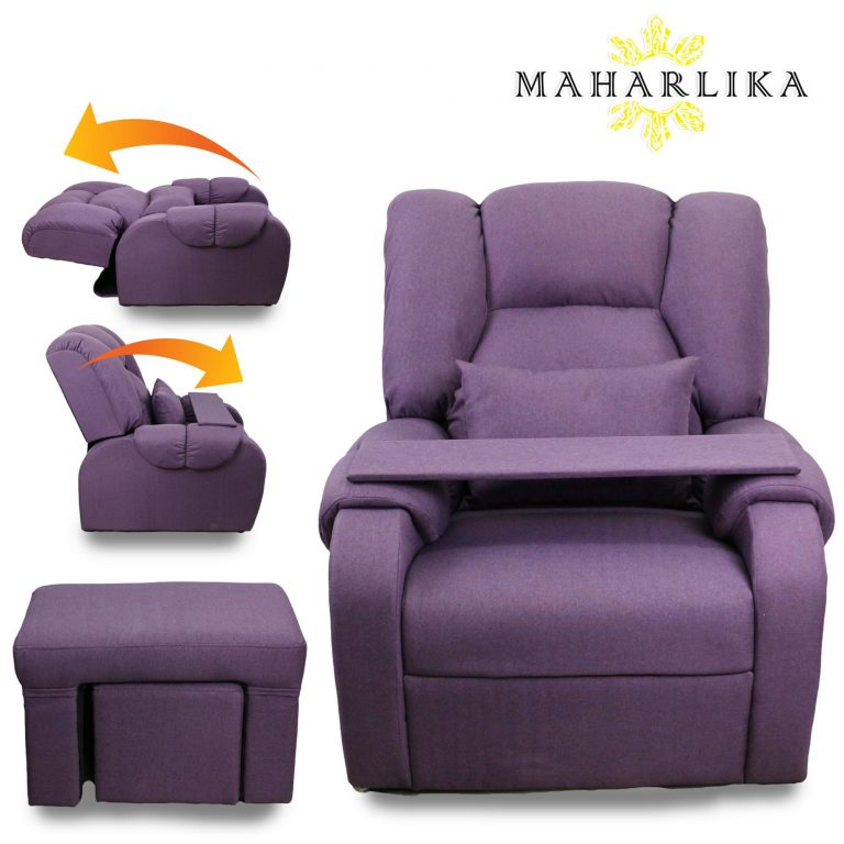 Maharlika Single Recliner Chair Convertible with mini Table Lazy seat Home cinema Sleeper Lounge Couch Sofa bed