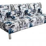 Sofa Bed w/ Metal Legs