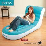 INTEX 68585 Single Backrest Lazybones Lazy Leisure Chair Inflatable Sofa