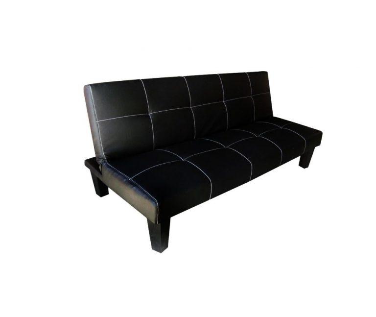 Elegant Modern Leather Sofa Bed