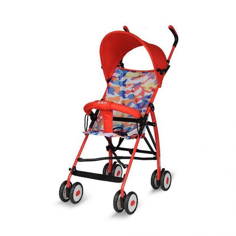 AG-Tech Lightweight Foldable Portable Baby Stroller Four Wheel Outdoor Baby Stroller