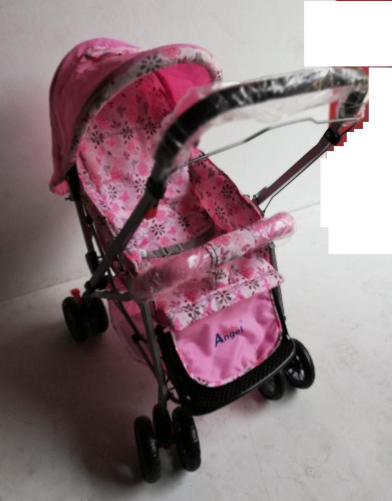 BABY STROLLER ST730 PINK FLOWER