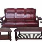 Dragon Sofa Set With Side Table and Center Table (Horse Design)