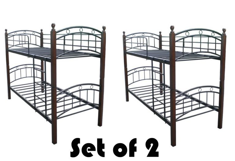Hapihomes 208 Double Deck Bed Frame SET Of 2 (Two)