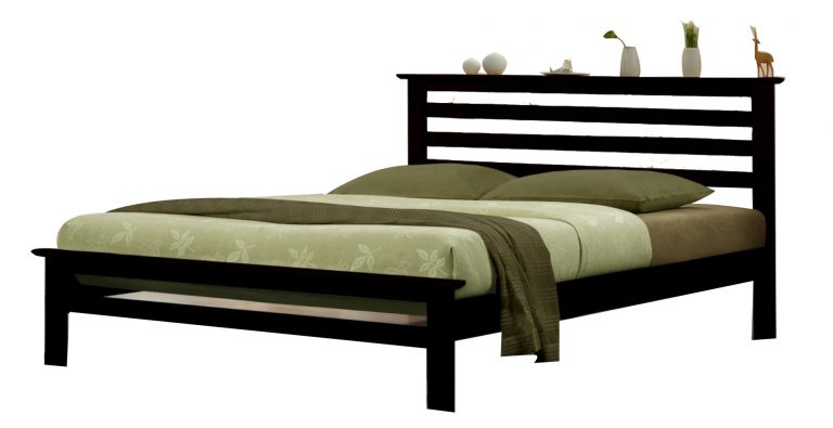 "Julie Wooden Bed 48""x75""(Double)"