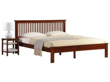 Longlife Howard Double Size Bed Frame Brown