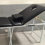 massage facial bed 2 in 1 reclining type portable
