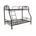 Metal Double Deck Bed (36x54x75)