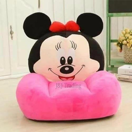 Mickey Mouse Plush Toy Sofa Baby Love (Pink)(Pink)