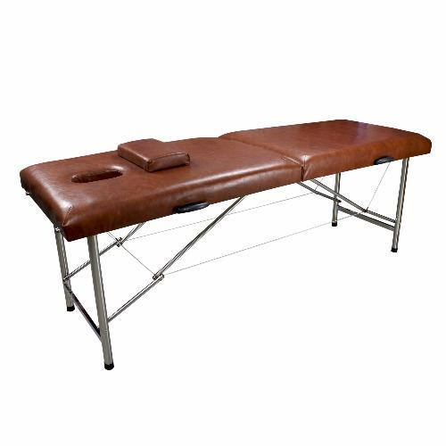 New Uni Beauty Portable Massage Table Massage Bed (Brown)