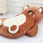 QUALITY Brown Bear Stuffed Toy Bed (BUDGETPLUS)