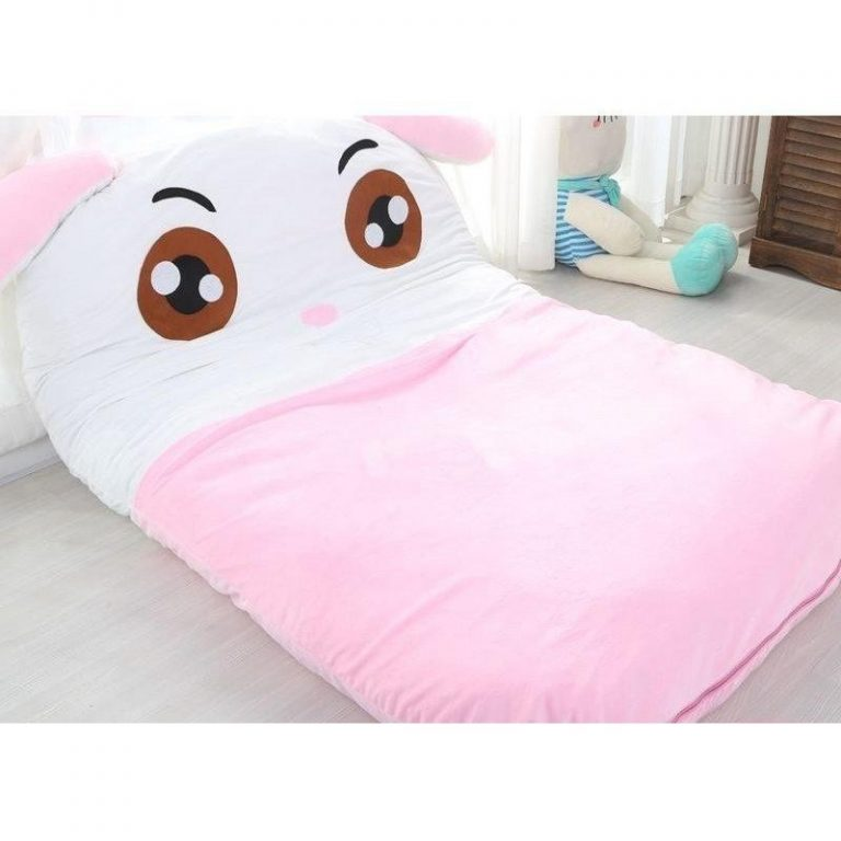 QUALITY Pink Rabbit Stuffed Toy Bed (BUDGETPLUS)