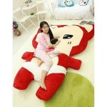 QUALITY Red Cat Stuffed Toy Bed (BUDGETPLUS)