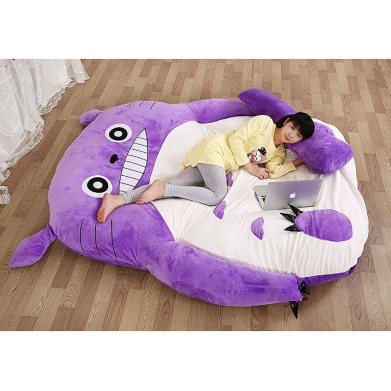 QUALITY totoro stuffed toy bed 6ft (BUDGETPLUS)