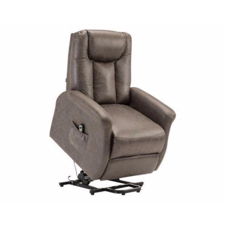 Qube Flotti Power Lift Chair (Color: Smokegrey)
