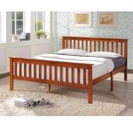 """Wooden Bed frame A-True 48""""x75"""" (double)"""