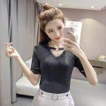 Korean Knitted Blouse