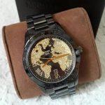 Michael Kors Black Layton Dial Ion-plated Women's Watch - MK6091