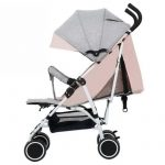 HQ Portable Lightweight Stroller Compact One-Hand Fold Baby Stroller